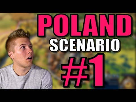 Civilization 6: Poland Gameplay [Civ 6 Scenario Gameplay] Let's Play Leader Jadwiga - Part 1