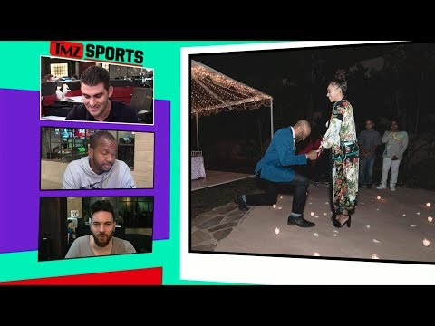 Derek Fisher Proposes to Gloria Govan, She Said 'Yes!' | TMZ Sports
