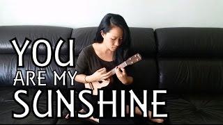 You Are My Sunshine (Minor Key//Ukulele Cover) | Rebecca Shang
