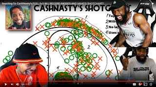 FLIGHT SALTY SINCE MY SHOT CHART BETTER THAN HIS! FULL 1v1 W-L RECORD MISSES & MAKES SHOTCHART!