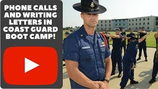 PHONE CALLS AND WRITING LETTERS IN COAST GUARD BOOT CAMP VLOG 049