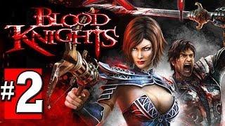 Blood Knights Gameplay Walkthrough Part 2 - Lets Play Playthrough [HD] XBOX 360 XBLA