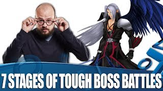 7 Stages Everyone Goes Through During Tough Boss Battles