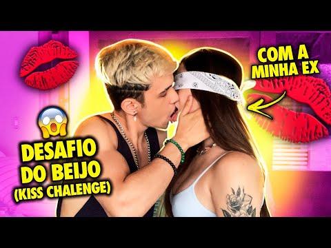 """DESAFIO DO BEIJO COM MINHA EX NAMORADA MARIA VENTURE """"KISS CHALLENGE"""""""