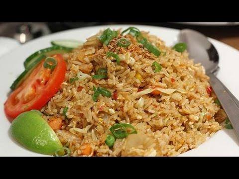 How To Make Nasi Goreng Kampung | Cara Membuat Nasi Goreng Kampung