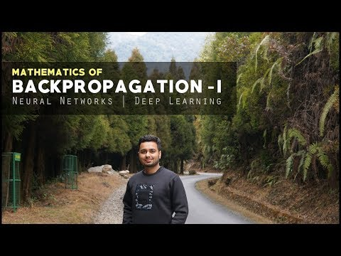 Mathematics of Backpropagation #1 - How Neural Networks learn?  [Deep Learning] thumbnail