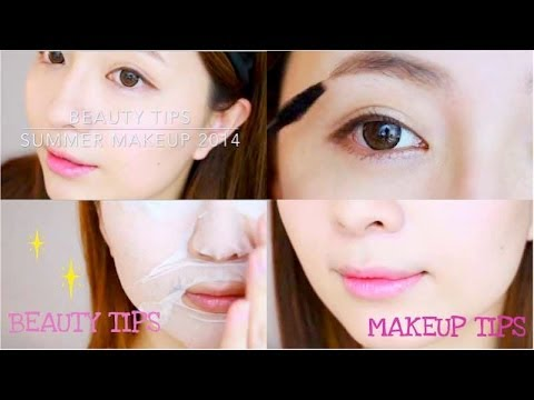 Beauty Tips♥假雙眼皮夏日妝My Summer Makeup 2014
