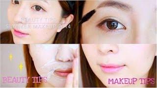 Beauty Tips♥假雙眼皮夏日妝My Summer Makeup 2014 Thumbnail