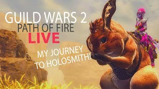 Guild wars 2 path of fire introducing the holosmith the