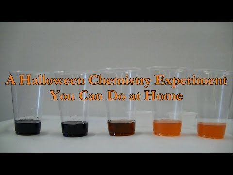 Chemistry projects that can be done at home