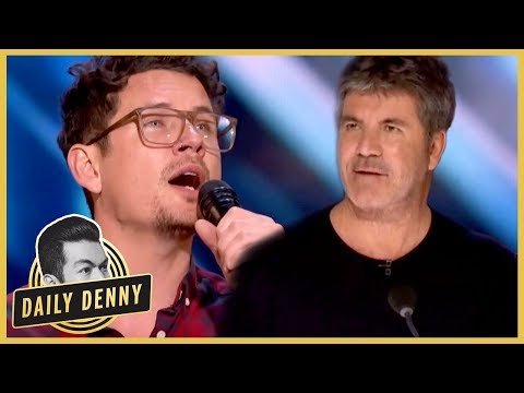 America's Got Talent: Simon Cowell Hits The Golden Buzzer For Father Of Six | Daily Denny