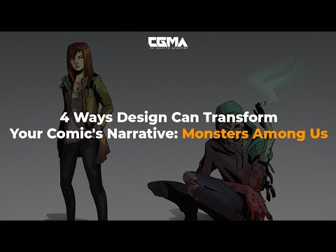 4 Ways Design Can Transform Your Comic's Narrative: Monsters Among Us