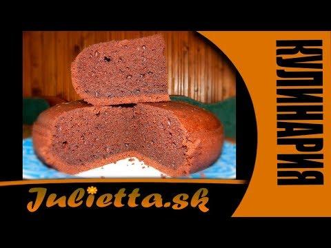 Бисквит шоколадный на кефире в мультиварке