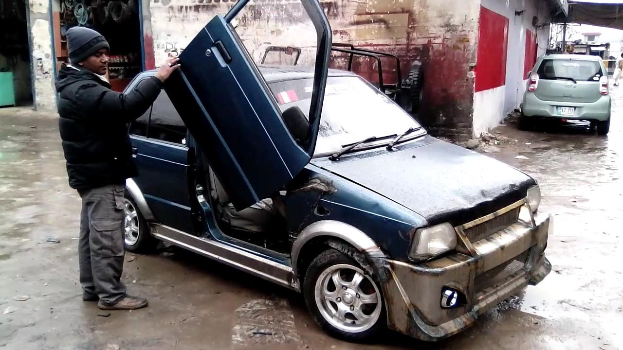 Modification In Suzuki Mehran
