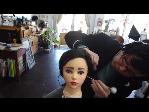 ブルゾン2代目をメーク 耳かき ブラッシング【ASMR】makeup & Ear Cleaning