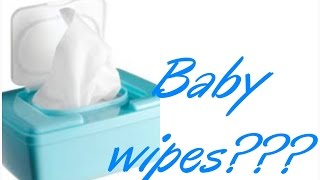 Girl Talk~ Can I use baby wipes on my vagina?