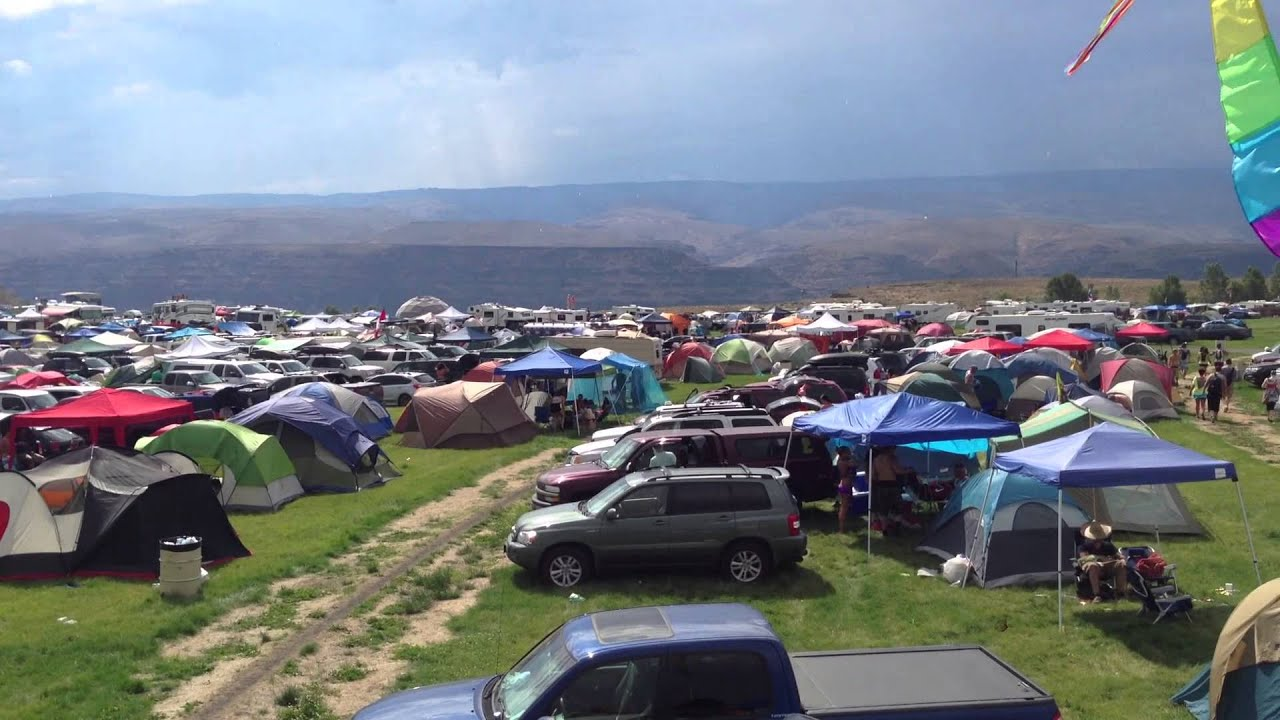 Panoramic View Of Gorge Camping Youtube