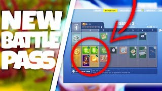 SEASON 3 Battle Pass SNEAK PEAK! NEW Items! (Fortnite Battle Royale)