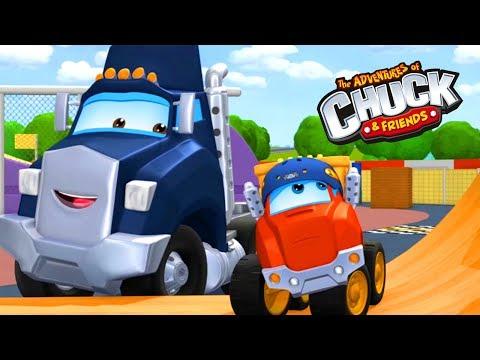 Мультики про #машинки для детей: #ЧАК и его друзья. Свет, камера, грузовики!