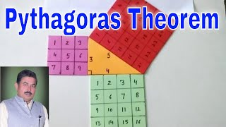 Pythagoras theorem - ideal maths lab with models and projects