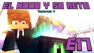 CREAMOS EL ENDER CHEST! E17 El Noob y su Reto 4 - Luzu