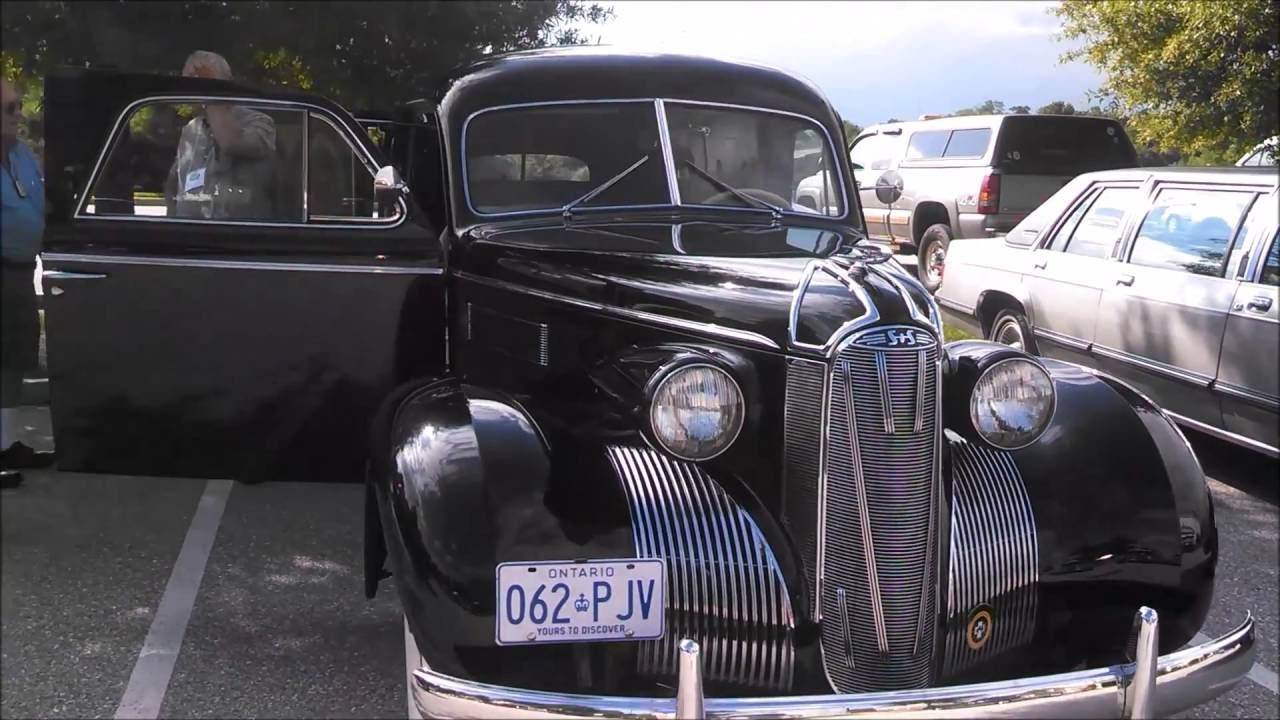 1939 S And S Funeral Coach Lasalle At The 2016 Professional Car