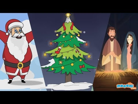 Christmas Songs and Story   Christmas Celebrations   Christmas Drawings   Kids Education by Mocomi