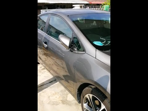 How to disassemble/repair kia cerato K3 side mirror folding motor and led light
