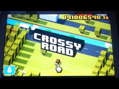 Взломанный!!!Crossy Road(обзор)СКУПАЕМ ВСЕ!!!