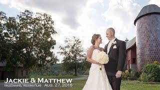 Quonquont Farm Wedding - Hatfield, MA