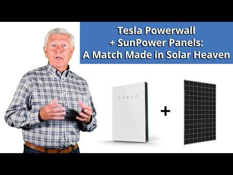 Tesla Powerwall + SunPower Panels: A Match Made in Solar Heaven