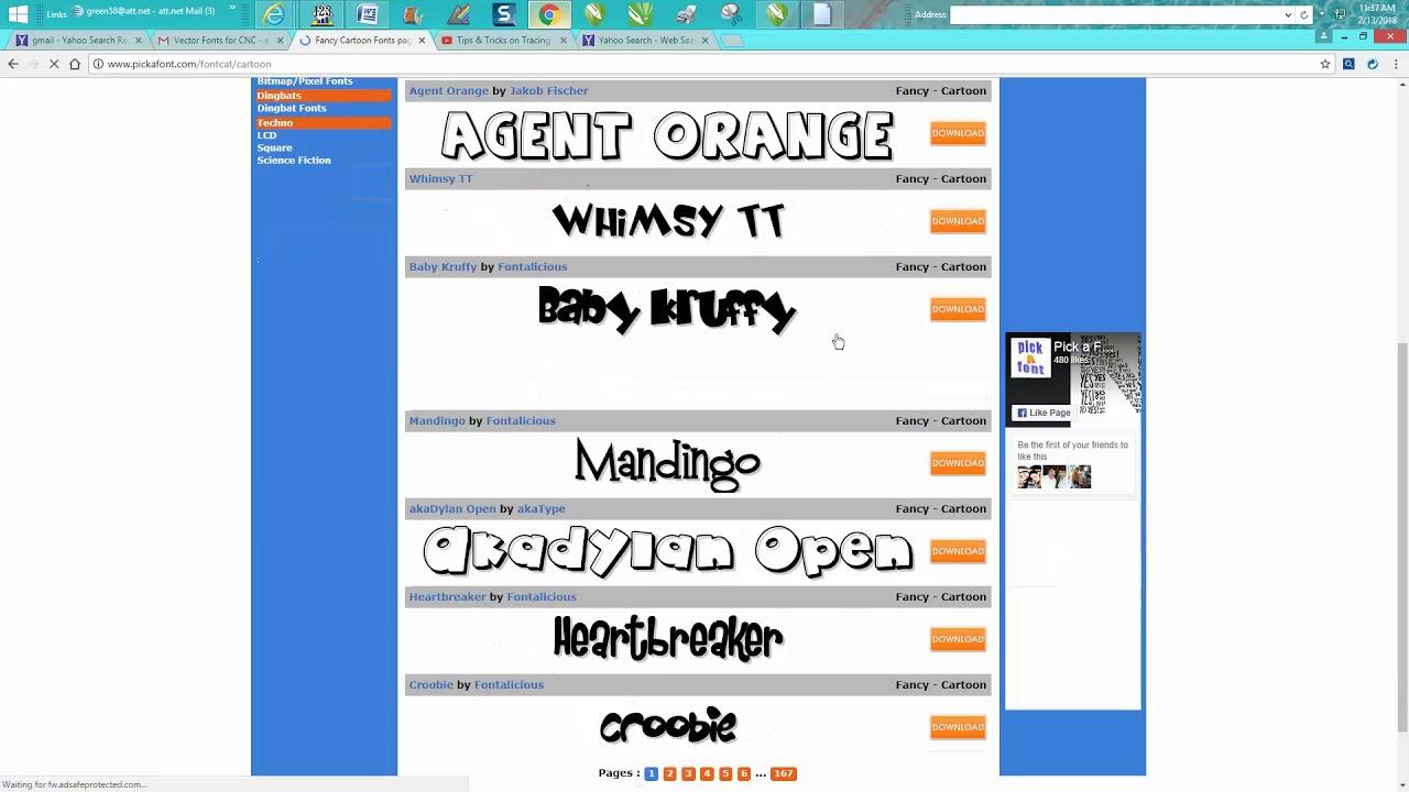 Corel Draw Tips & Tricks Single line Vector Font