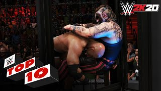 Explosive Elimination Chamber moments: WWE 2K20 Top 10