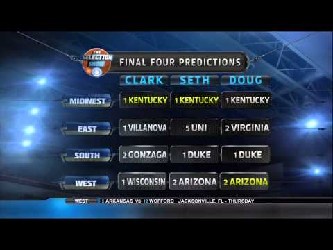 NCAA March Madness – Selection Sunday: Final Four Predictions