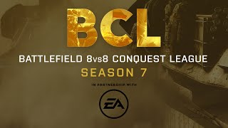 BCL - Battlefield Conquest League Season 7 Trailer