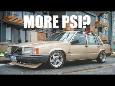 Volvo Drift Car Gets A New Intercooler Custom Lip Youtube