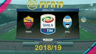 Download Video FIFA 19 Roma Vs Spal   Serie A 2018/19   PS4 Full Match MP3 3GP MP4