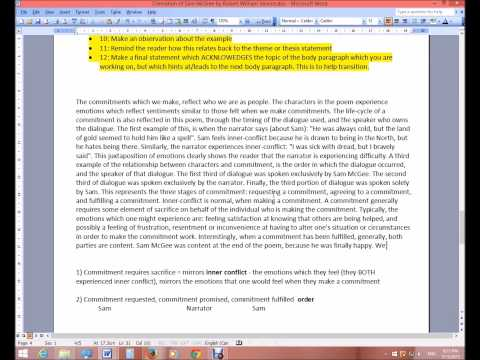 ESSAY WRITING PART 3 of 3