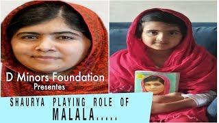 D Minors   Malala Yousafzai   Best United Nation Speech - One Child   by Shaurya little kid