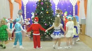 Новогодний  2018 Утренник в детском саду  2017 - 2018 и мисс Арина тв