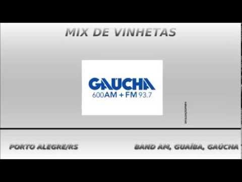 Mix de vinhetas de rádio de Porto Alegre/RS