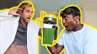 THIS SMOOTHIE ALMOST KILLED MY ROOMMATE w/ Mike & Aryia