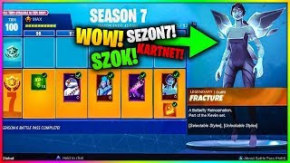 NEW BATTLE PASS FOR SEASON 7 IN FORTNITE!! NEW SKINS SEASON 6!
