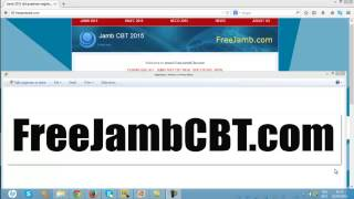 jamb cbt training software free