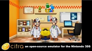 Citra 3DS Emulator - Dr. Mario: Miracle Cure Ingame! + audio