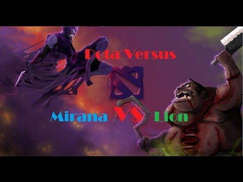 Dota Versus ( Mirana Vs Lion)