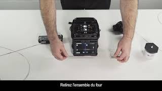 FUJIKURA 90R Ribbon Fusion Splicer video