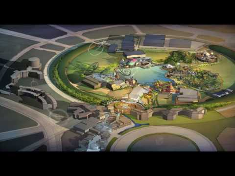 Universal Studios Dubailand video