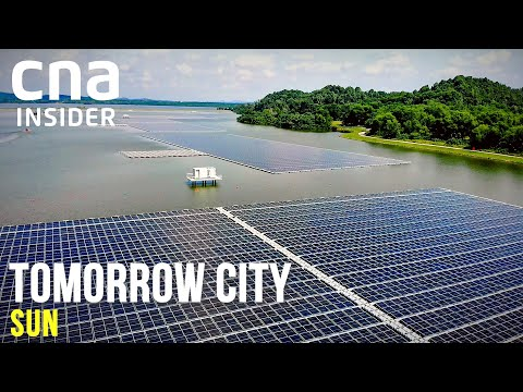One Of World's Largest Floating Solar Farms: Singapore's Solar Plan | Tomorrow City | Part 2/3