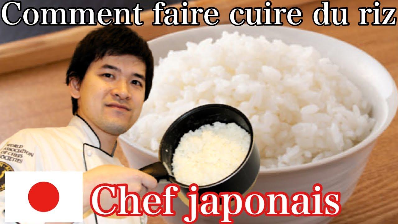 Comment Faire Cuire Du Riz Un Chef Japonais Vous Apprendra A Cuisiner Du Riz Youtube